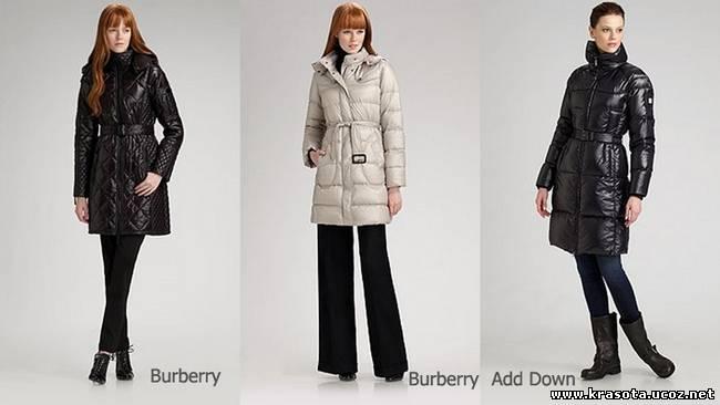 модные женские пуховики зима 2012 фото - Сумки.